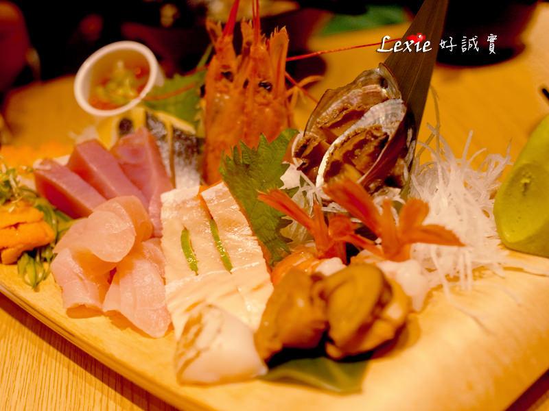 【林口美食】築地樂樂町(林口店) 高CP值日本料理 丼飯定食生魚片 菜單
