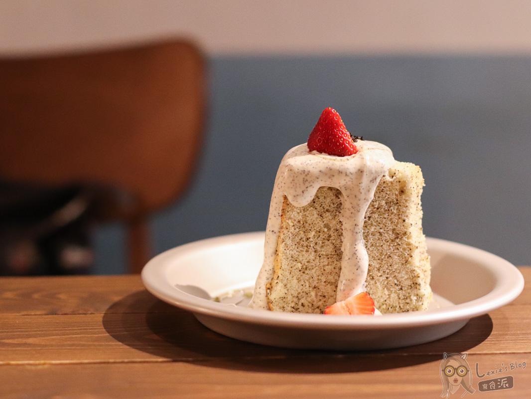 行天宮甜點》蛋宅,民宅中的隱密甜點咖啡廳/戚風蛋糕