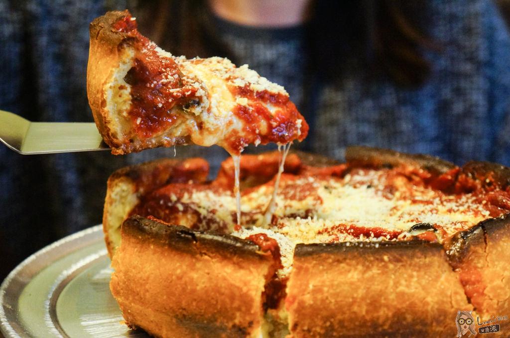 【南京復興聚餐餐廳】老外都愛的Big Boyz Pizza芝加哥深盤pizza/菜單價位