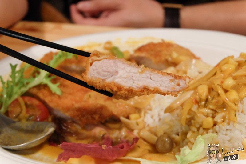 【南京復興美食】蓮REN日本食堂 代官山南洋咖哩炸豬排/巷弄美食推薦