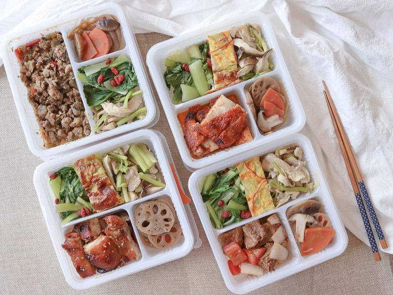 便當外送》蜂鳥食堂-健康美味的便當,上班族午餐好飯盒推薦