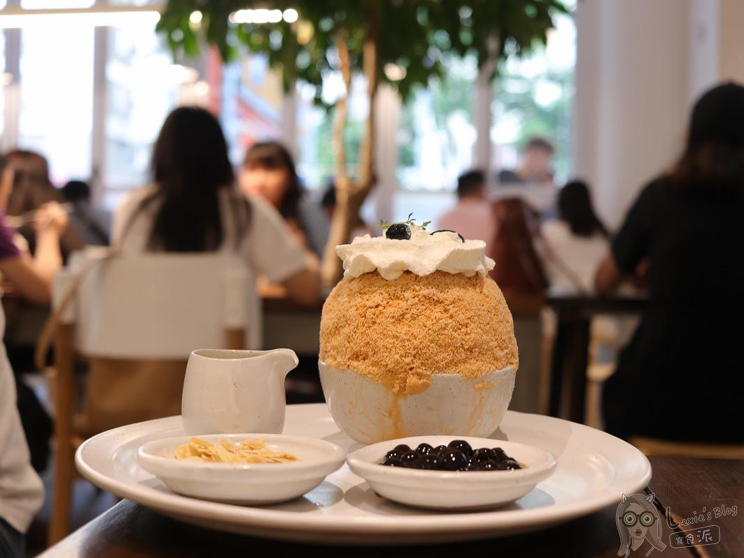 國父紀念館美食》泰國冰品奇維奇娃,泰式奶茶冰濃郁細密,入口即化