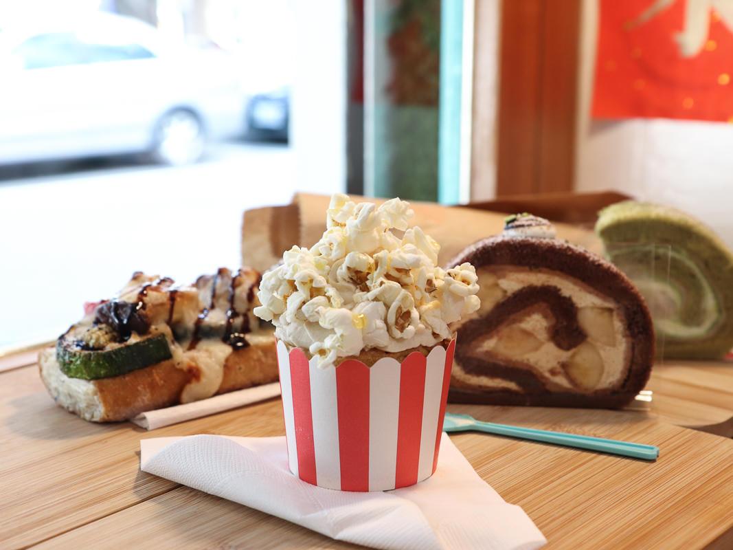 高麗菜公園》法國麵包、蛋糕捲,亂點都好吃清新小店,南京復興/小巨蛋甜點店下午茶