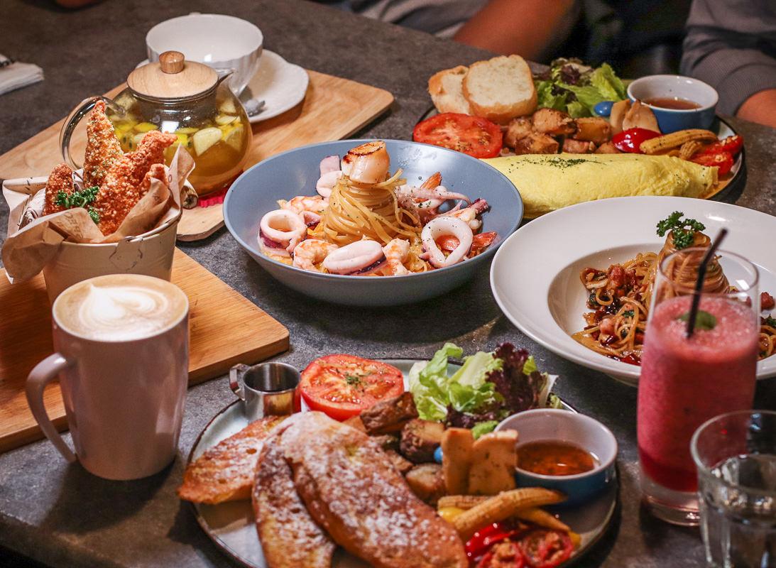 公館美食-窩巷弄,保證好吃的義大利麵(進口義大利麵條)、早午餐,晚上別有風情