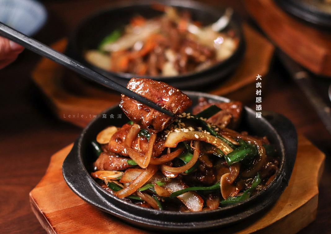 士林居酒屋推薦 大武村居酒屋,菜單花樣多變選擇多元,用串燒烤物療癒一天的疲憊吧