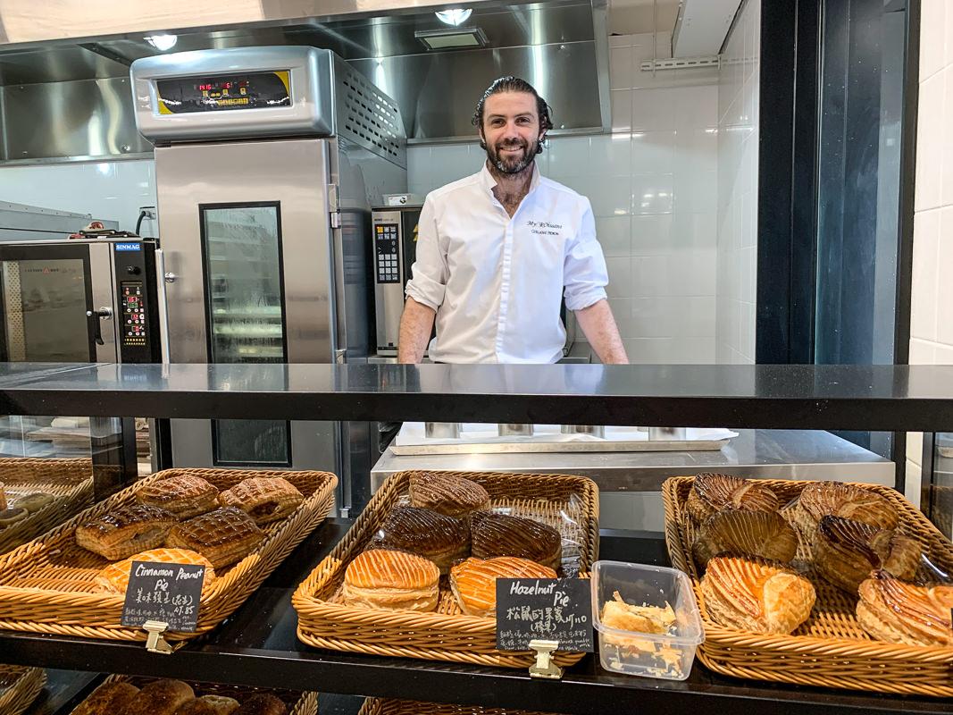 吉可頌丹麥專門店 台北必吃超強可頌,法國女婿愛留台灣,酥脆鬆軟Croissant麵包/派每種都超好吃