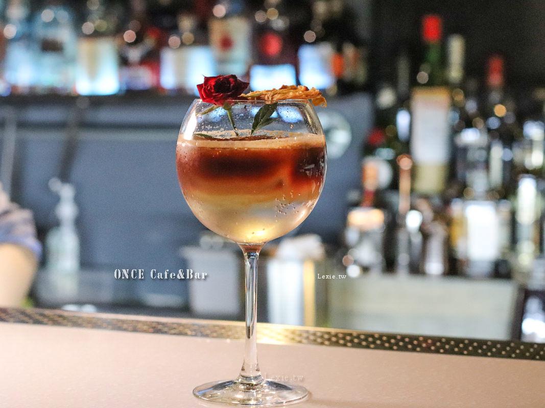 西門酒吧推薦ONCE Cafe&Bar|人生只活一次,就喝好酒吧!白天咖啡廳晚上變酒吧,高品質創意調酒