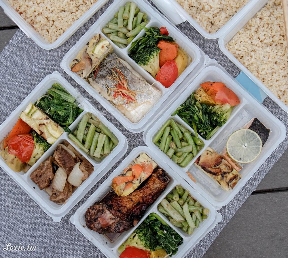 台北健康餐盒便當外送》蜂鳥食堂,少油少鹽多蔬菜,菜色變化多樣!聖誕限定勃根地松露烤雞上市!