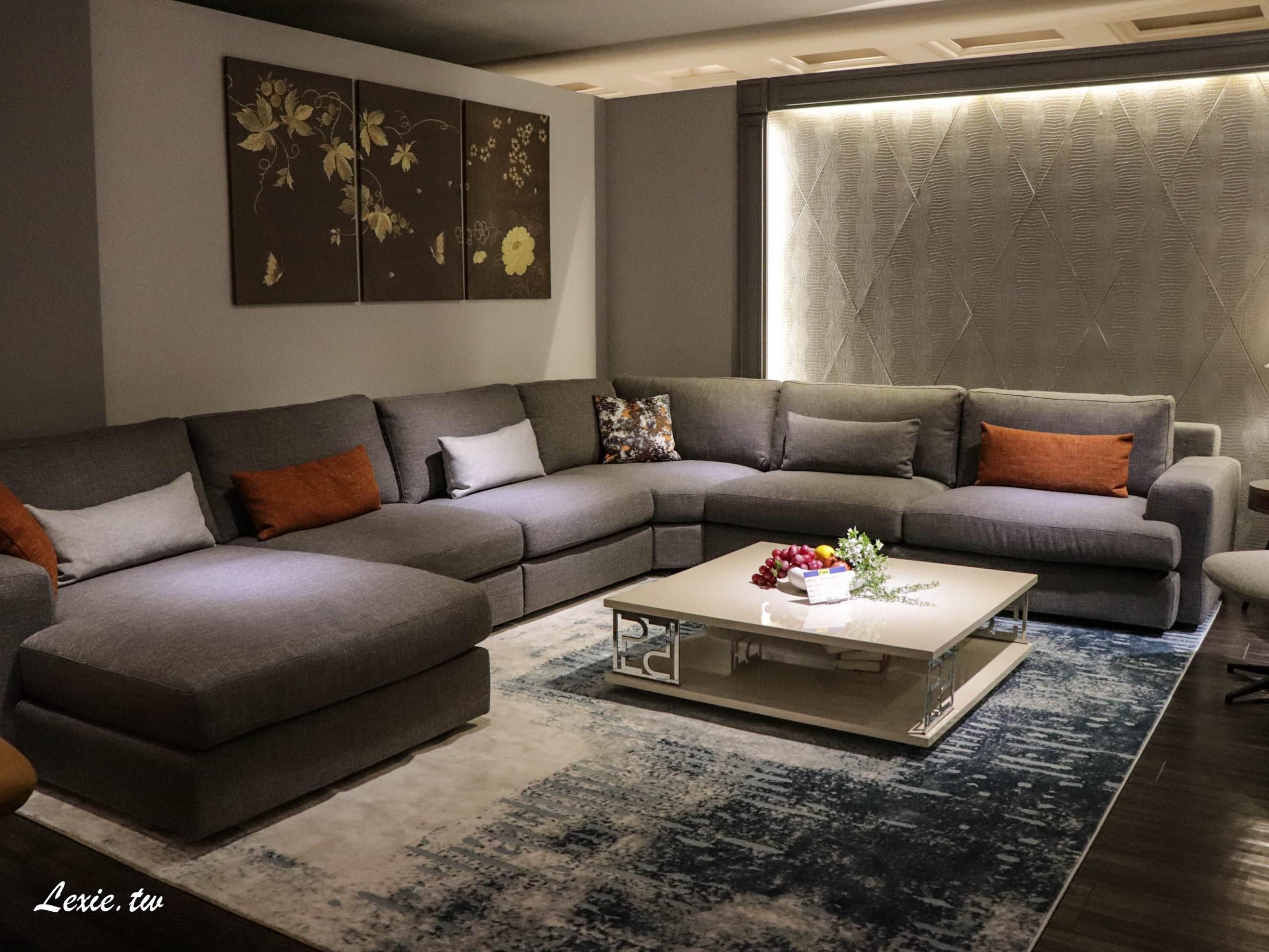 台北家具推薦晶華傢俱》完整了對美好家庭生活的想像 / 超划算牛皮沙發 / chc床墊