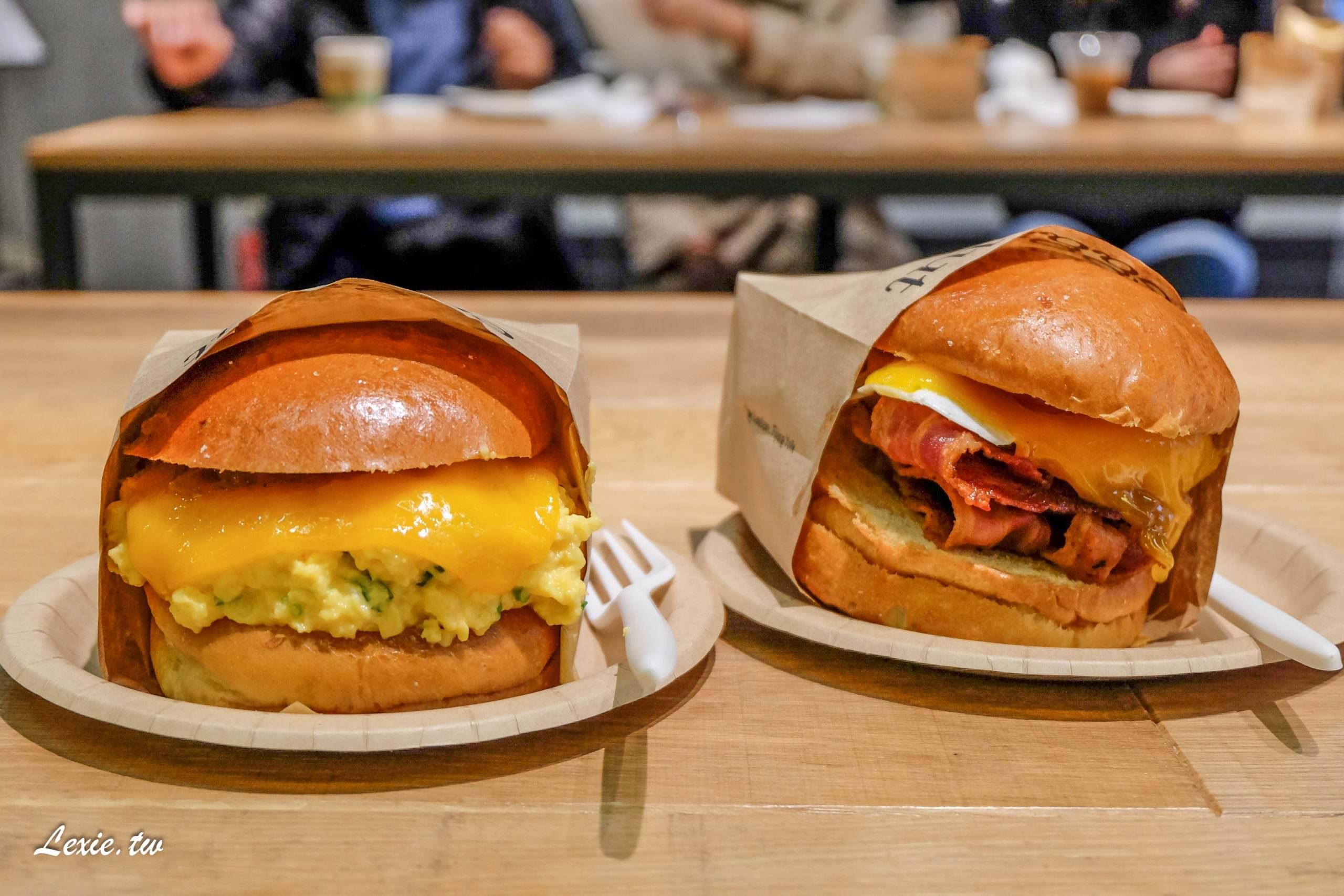 JR新宿車站必吃美食eggslut,超強洛杉磯排隊知名漢堡日本分店、BOUL'ANGE麵包店神好吃的可頌麵包