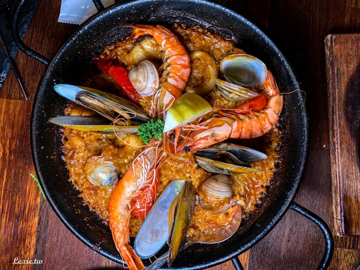 台北西班牙餐酒館PS TAPAS,很不對味口的西班牙料理,忠孝復興餐廳美食