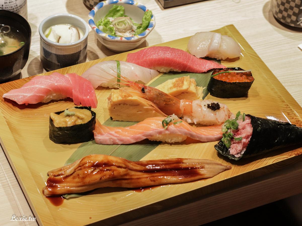美登利壽司台灣菜單搶先看,台北終於吃得到!推超級特選握壽司拼盤!