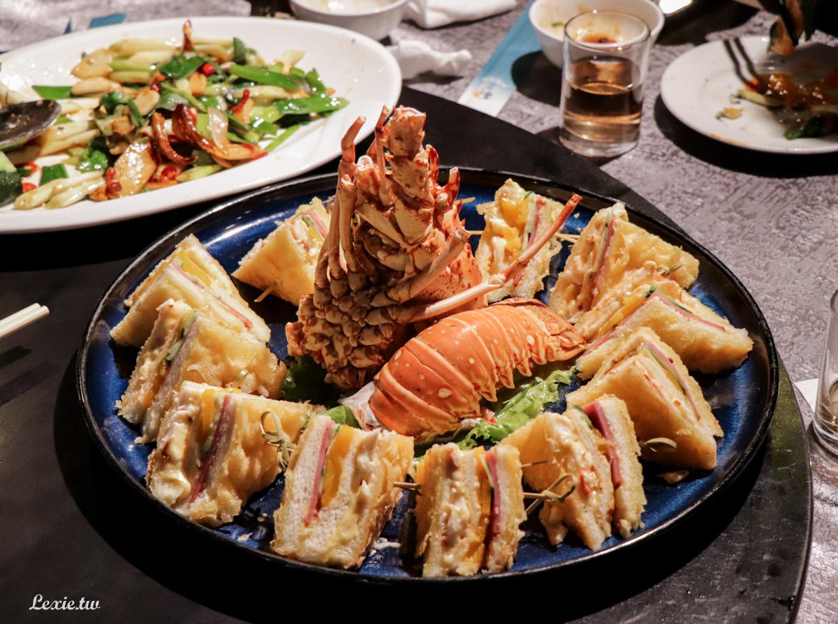 新東南海鮮餐廳松山店,價位高食材新鮮,超人氣台北海鮮餐廳/桌菜酒席/家庭聚餐