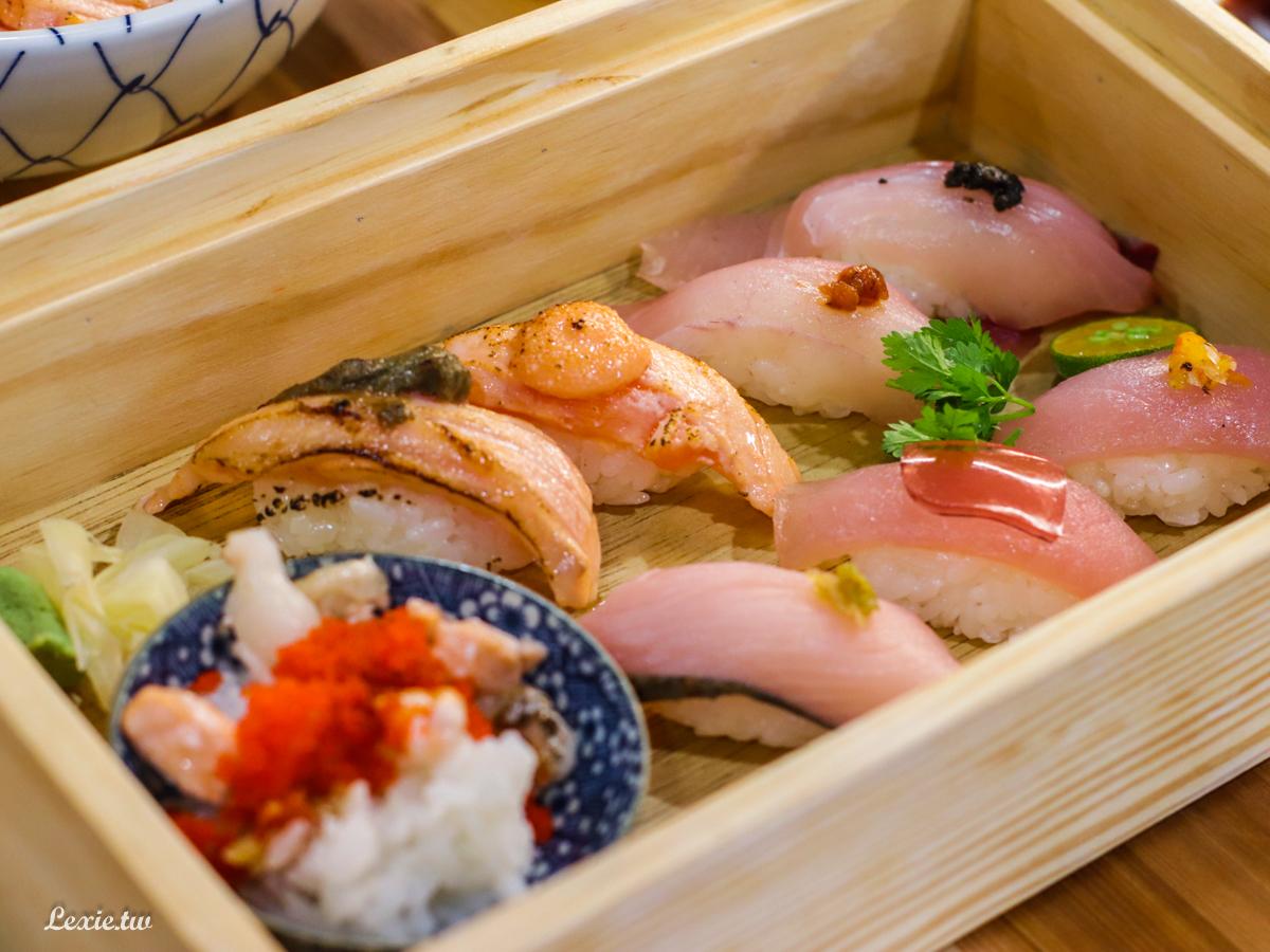 南京復興日本料理-THE春|平價壽司丼飯,鮮魚味噌湯無限續