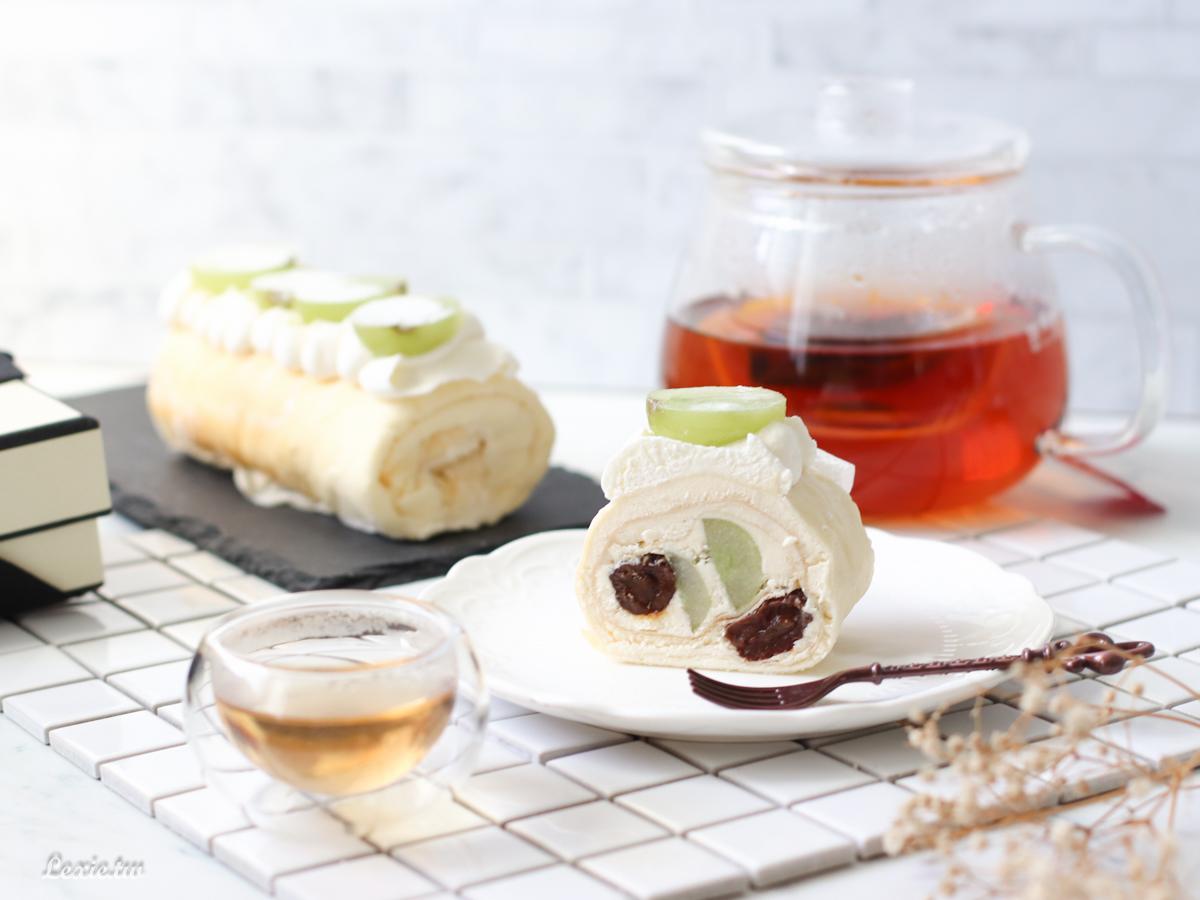 毛巾捲奶油捲推薦|熊夫人甜點,微醺甜點品嘗酒香與蛋糕的共舞/宅配甜點