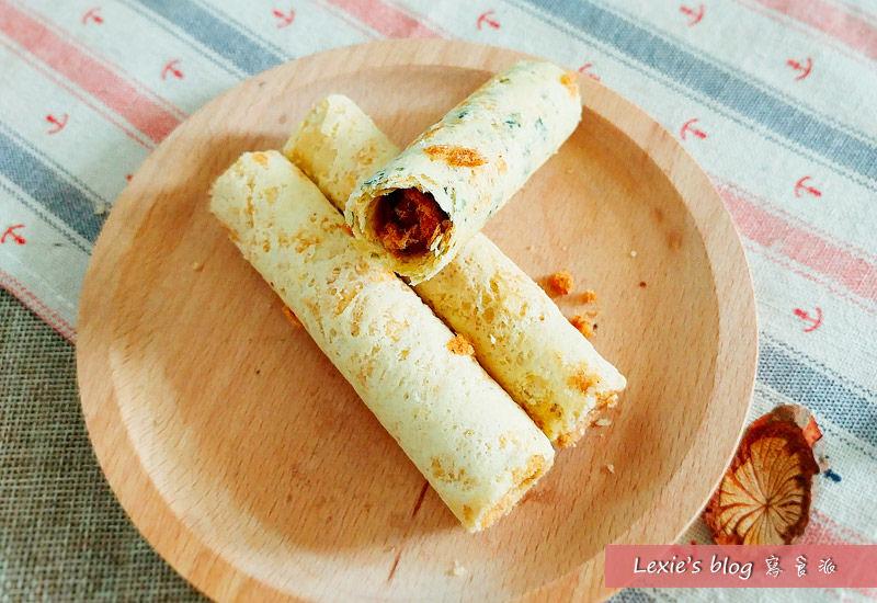 食記【團購美食】青島旅行 肉鬆蛋捲第一品牌 好吃包裝有質感適合送禮
