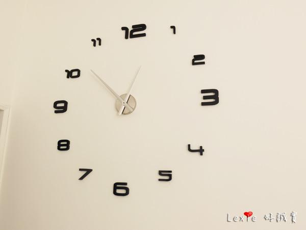 【淘寶購物】Max3藝術時鐘/超大時鐘 居家佈置DECO好物,滿意度:75分