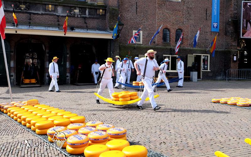 【荷蘭自助9天】阿克瑪乳酪市集Alkmaar cheese market