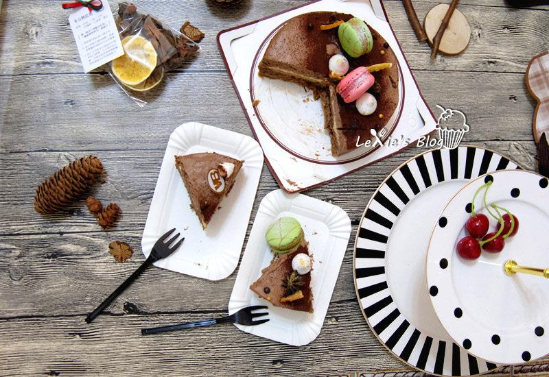 食記【團購網購蛋糕】凡內莎冬季限定香釀市集❤香料紅酒巧克力幕斯蛋糕6吋
