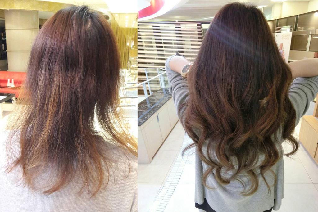 髮片/貼片式接髮心得與髮帶/緞帶捲髮分享 免電棒就可以有自然的大捲髮