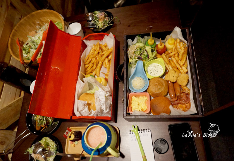 食記【台北】松菸早午餐/美式餐廳推薦TankQ Cafe & Bar手提箱早午餐(菜單menu)