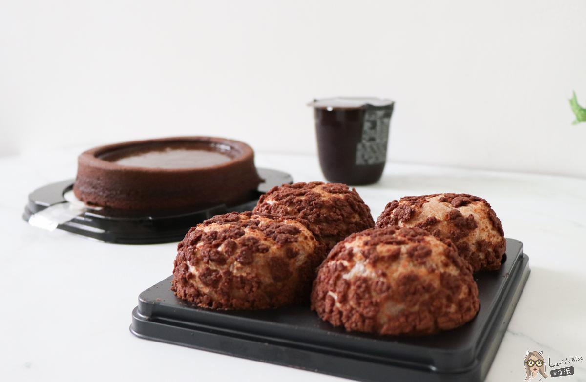 【普雷】全聯+Hershey's冬季限定「巧克力甜點」,CP值高口味普通吧