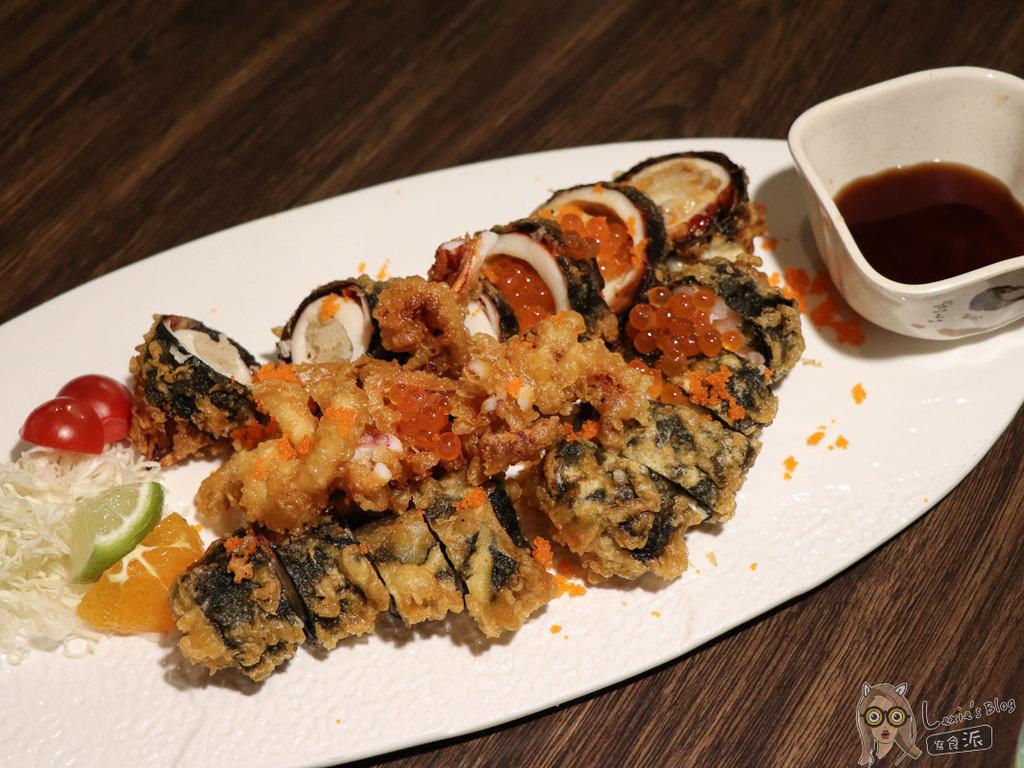 【南京復興美食】海繩日本料理,美美像咖啡廳的創意日式料理