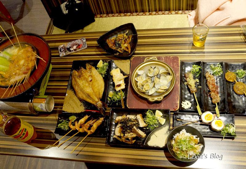 食記【台北】燒鳥串道 行天宮串燒居酒屋 紅外線烤 免費柴魚醬拌飯吃到飽