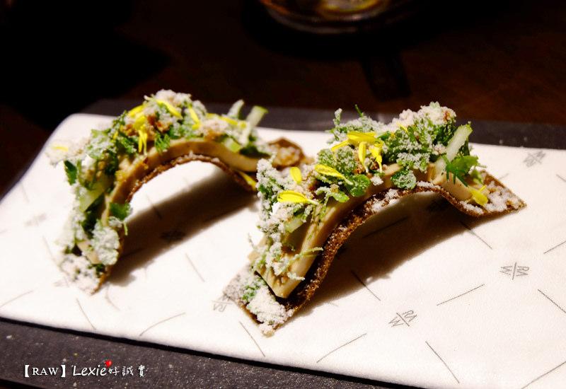 食記【台北】RAW名廚江振誠的創新法式料理 視覺味覺雙重衝擊的美味(年度精選菜單)