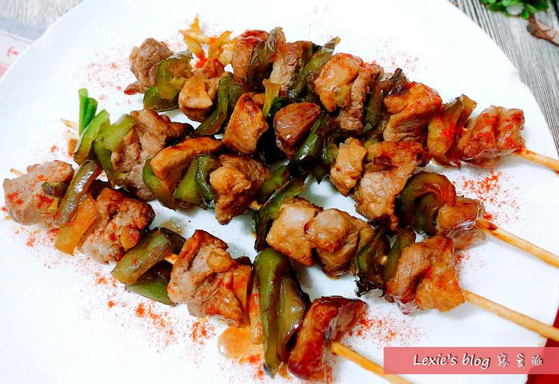 食譜【照燒豬肉串】濃郁入味,超簡單料理看起來又好專業