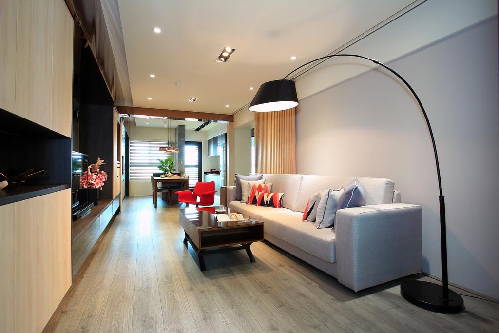 室內設計開箱分享:台中新成屋室內設計裝潢心得推薦,溫馨又充滿設計感的美宅