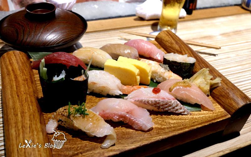 食記【台北】上引水產,立吞區握壽司日本料理美食推薦