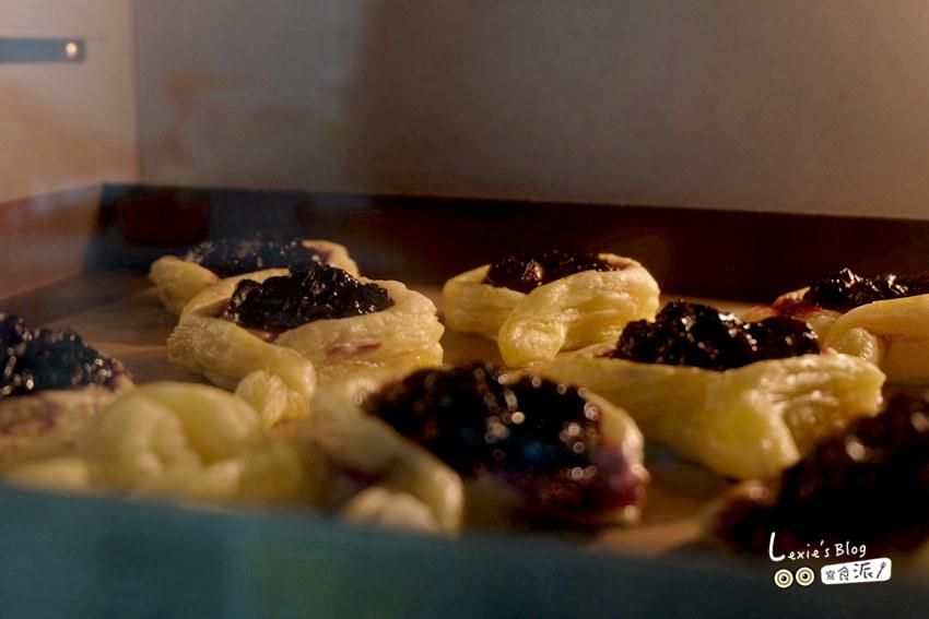 食譜【甜點】完全不會烘焙都可以做的起酥藍莓派,超簡單!