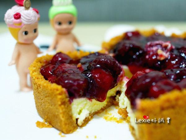 食記【團購美食】法國的秘密甜點:情人節森林莓果佐起士蛋糕