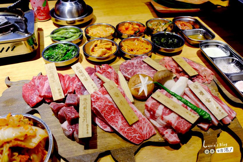 食記【台北】娘子韓食-東區韓式烤肉推薦-牛肉派對套餐8種部位肉鬼必點
