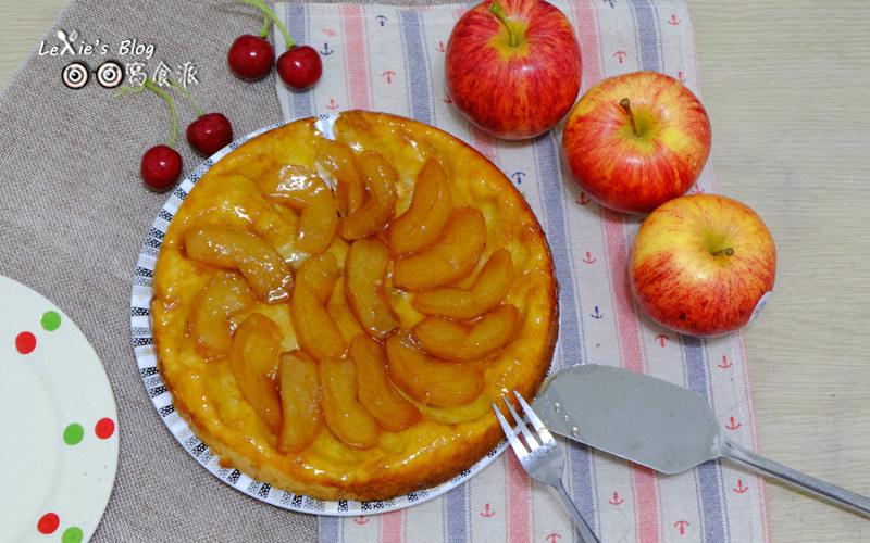 食譜【翻轉蘋果塔】鑄鐵鍋一鍋到底的簡單甜點,出乎意料的好吃!
